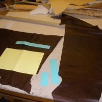 cartable cuir fabric atipic