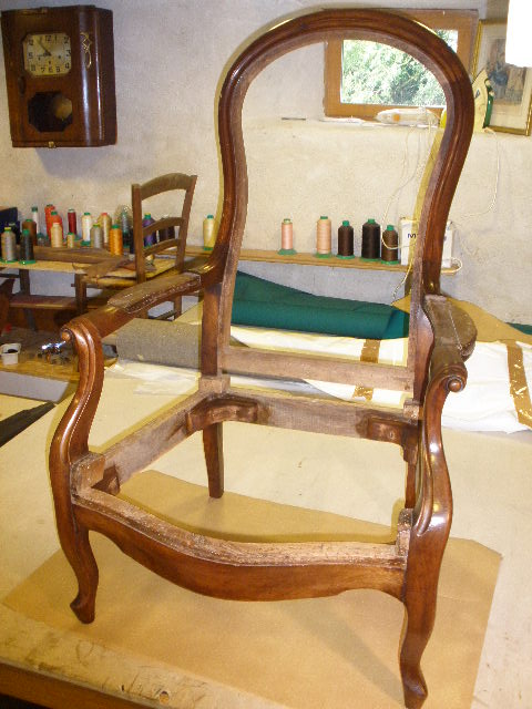 Fauteuil Voltaire | fabricatipic